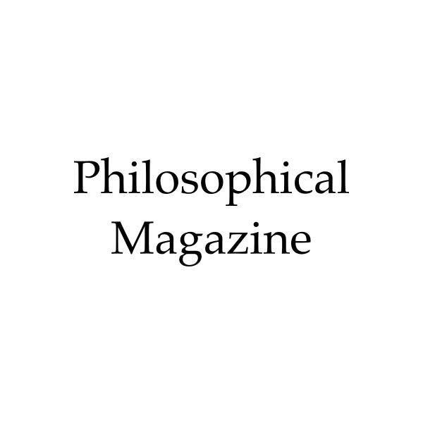 Philosophical Magazine