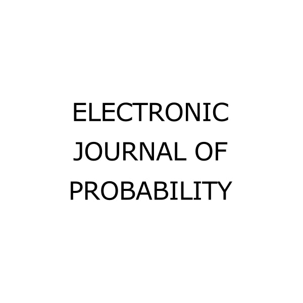 Electronic Journal of Probability